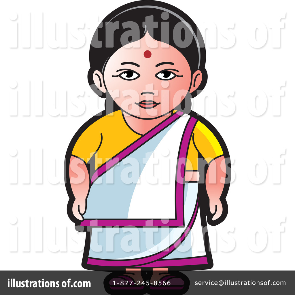 Indian Woman Clipart #1242457.