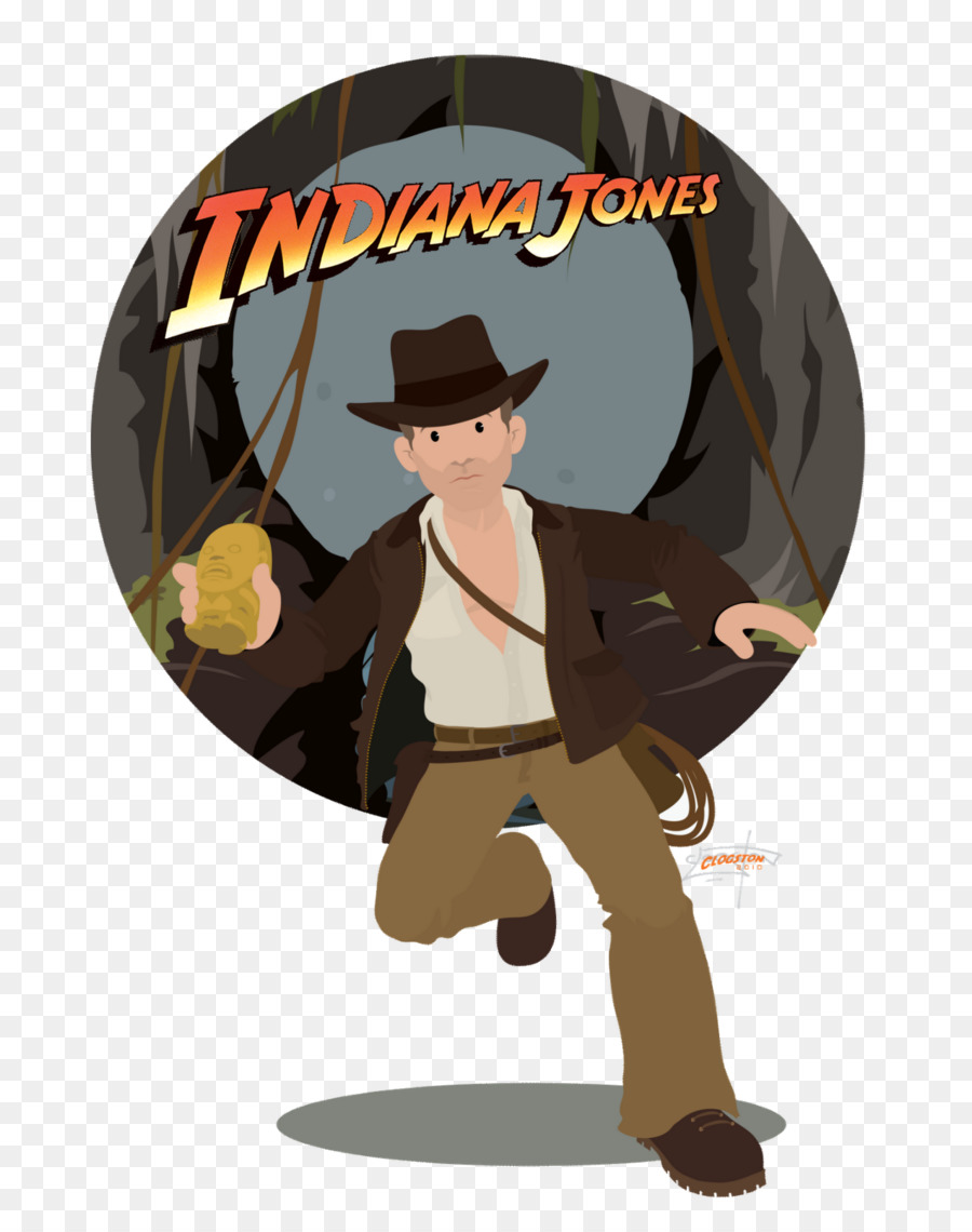 Indiana Jones Cartoon png download.