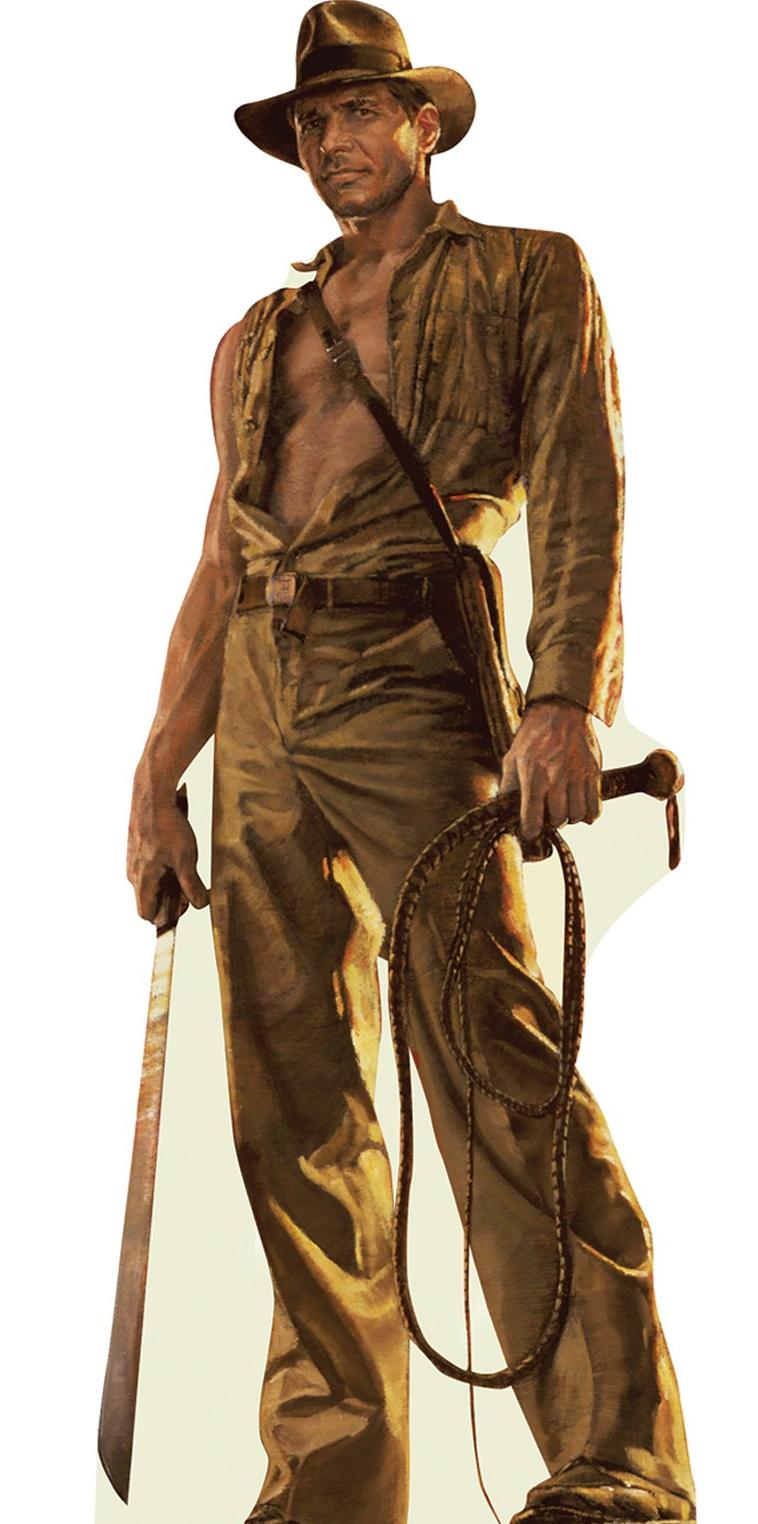 "Indiana Jones, from the ""Indiana Jones""."