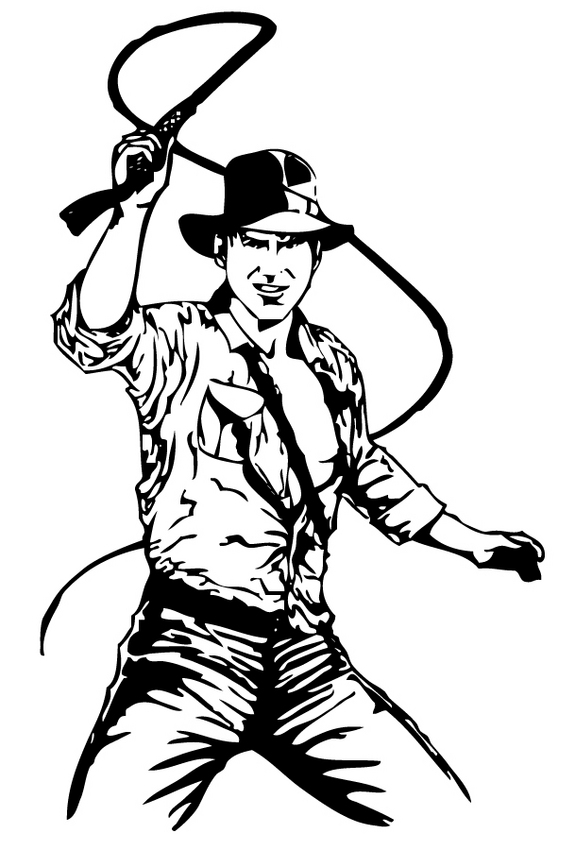 Indiana Jones Clip Art Free.