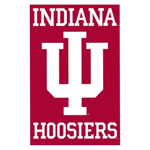 Indiana University Banner Flag Clipart.
