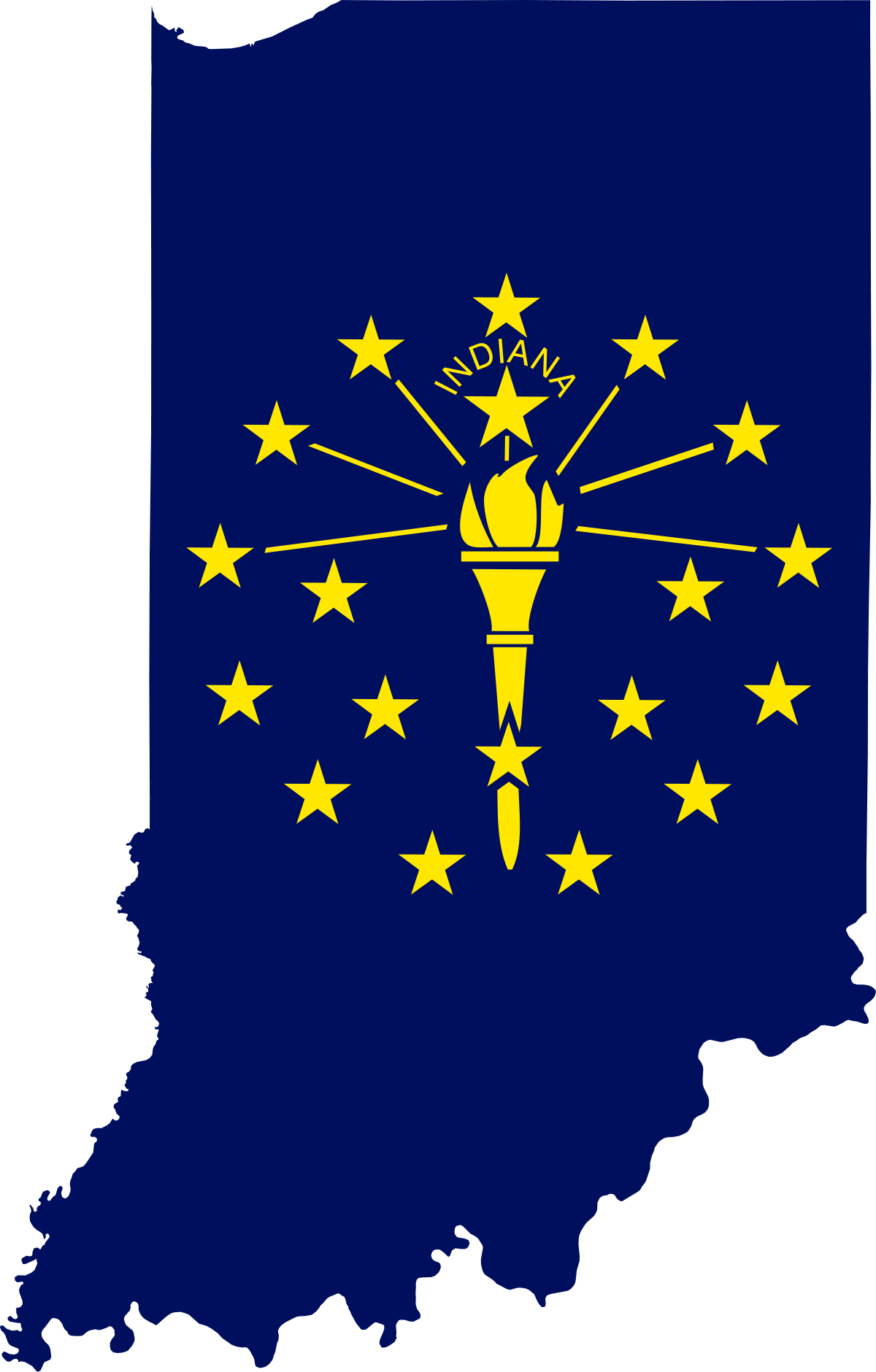 File:Flag map of Indiana.svg.