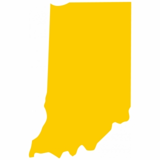 Indiana Outline PNG Images.