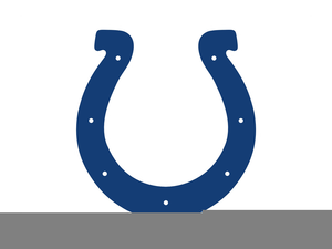 The Indianapolis Colts Clipart.