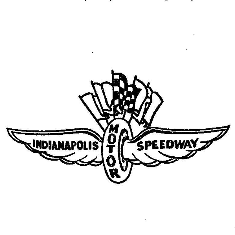 Indy Motor Speedway logo registered as trademark on this day.