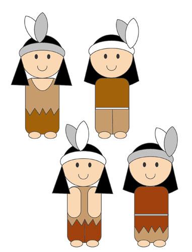 Indians Clip Art.