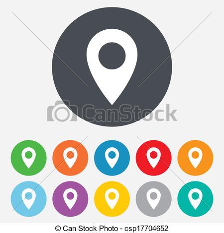 Location Icon Vector.