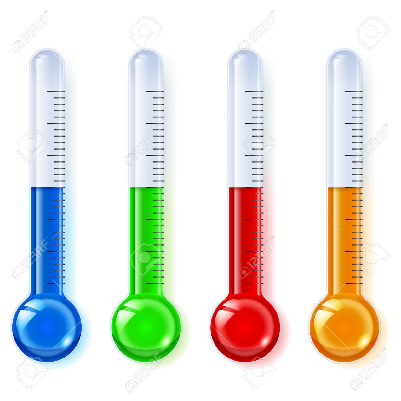 4,246 Temperature Indicator Stock Vector Illustration And Royalty.