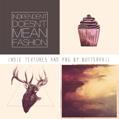 Indie set textures and PNG by Butterphil on DeviantArt.