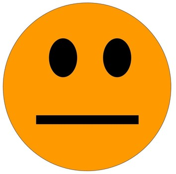 Indifferent Smiley Face Clipart.