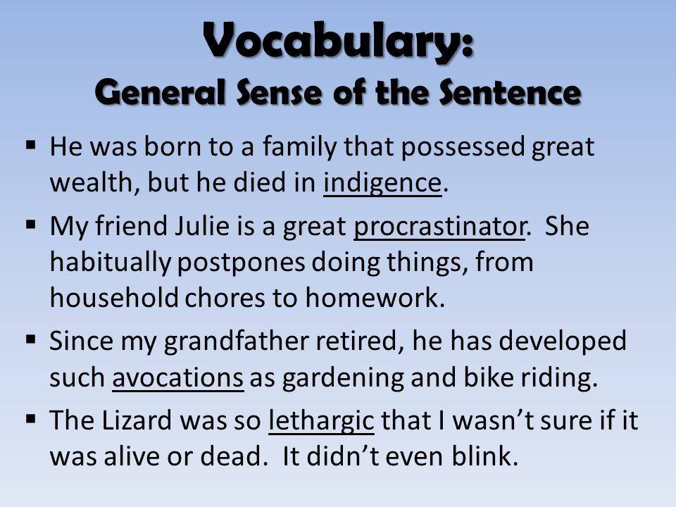 """ENGLISH 090 September 25, 2013 """"The Dare"""" Vocabulary (continued."""