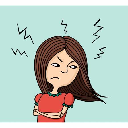 Indignant clipart 3 » Clipart Station.