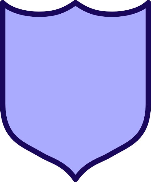 Indigo Shield Clip Art at Clker.com.