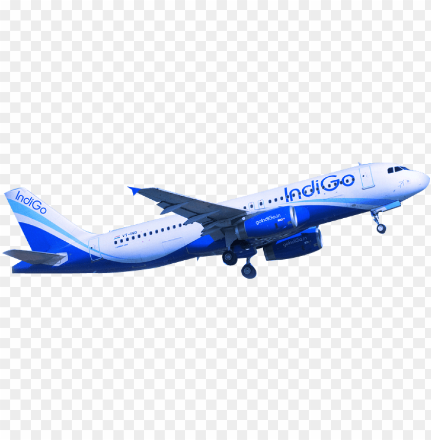 indigo flight images PNG image with transparent background.