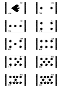 This is a picture of Clever Playing Card Printable
