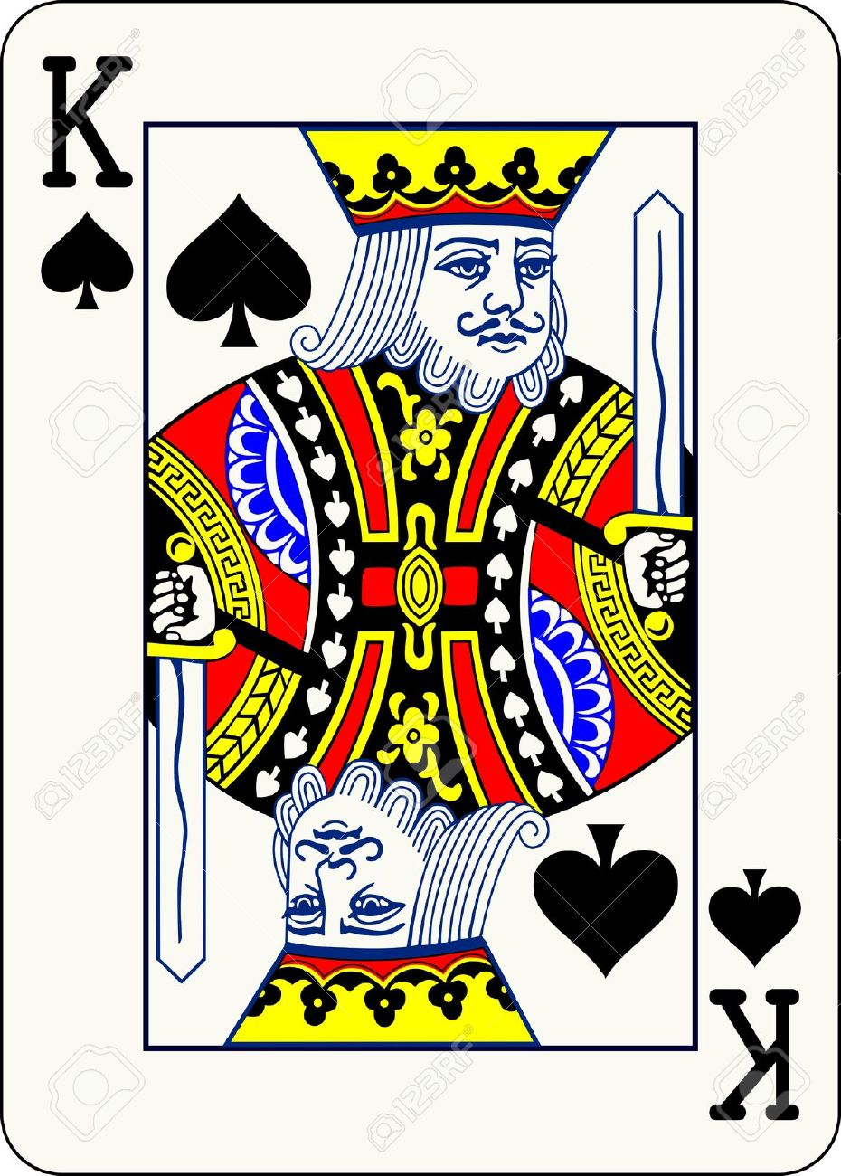 Showing post & media for King playing card symbol.