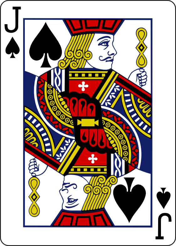 Individual Playing Cards Clipart.