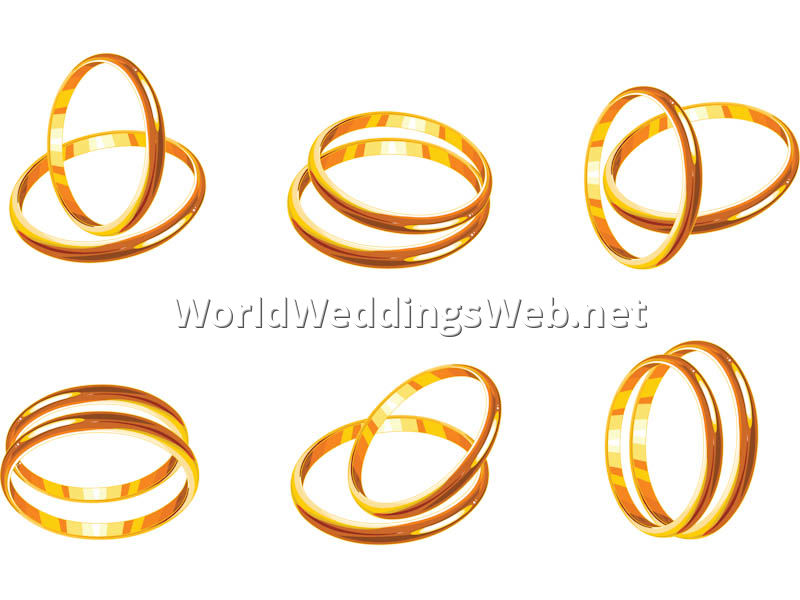 wedding ring clipart 9.