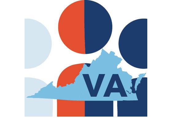 Indivisible Virginia Logo.