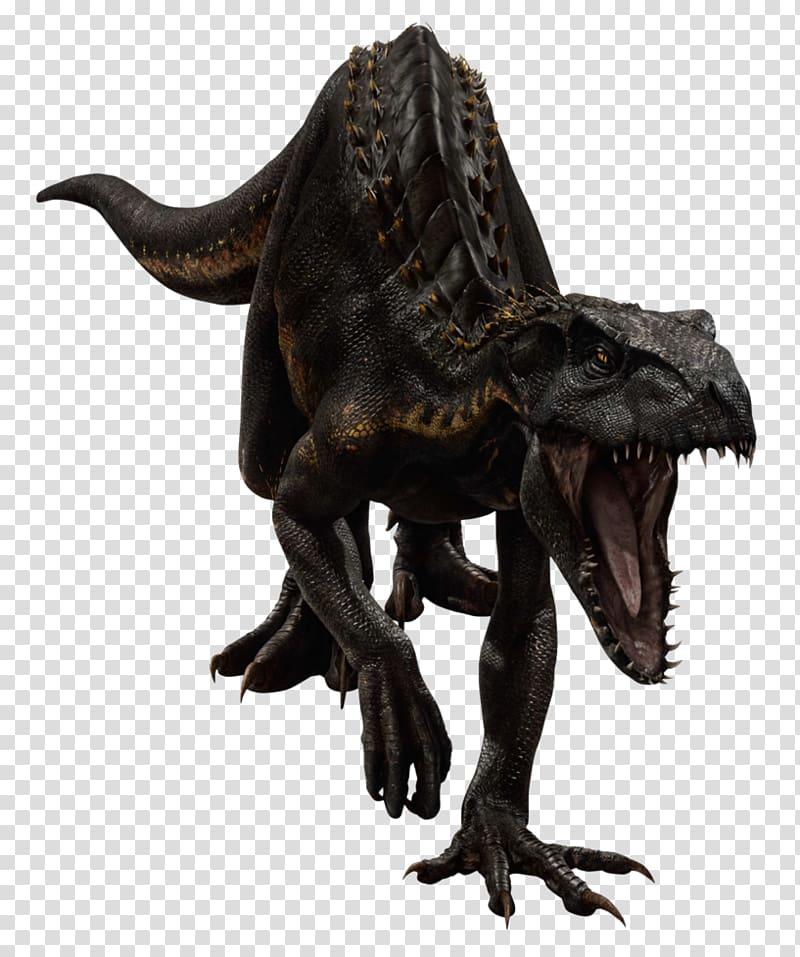 Black dinosaur illustration, Velociraptor Jurassic World Alive.