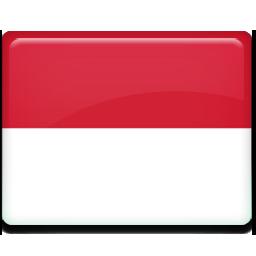 Flag, indonesia icon.