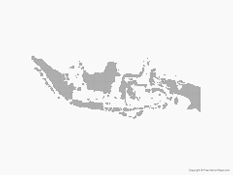 Vector Maps of Indonesia.