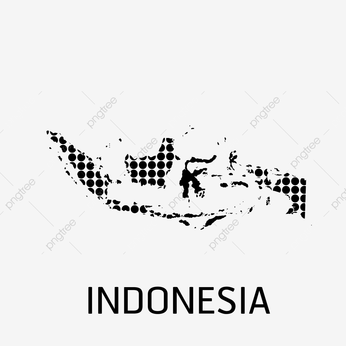 Indonesia Map Icon, Indonesia, Map, World PNG and Vector with.
