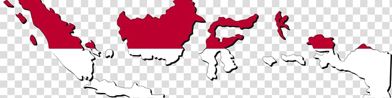 Flag of Indonesia Blank map Indonesian National Revolution, map.