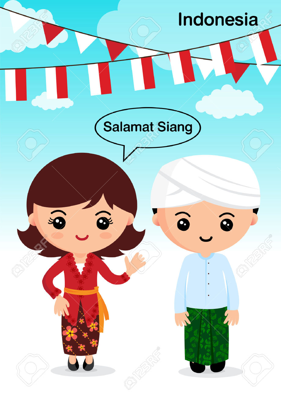 Indonesia Traditional Costume Royalty Free Cliparts, Vectors, And.
