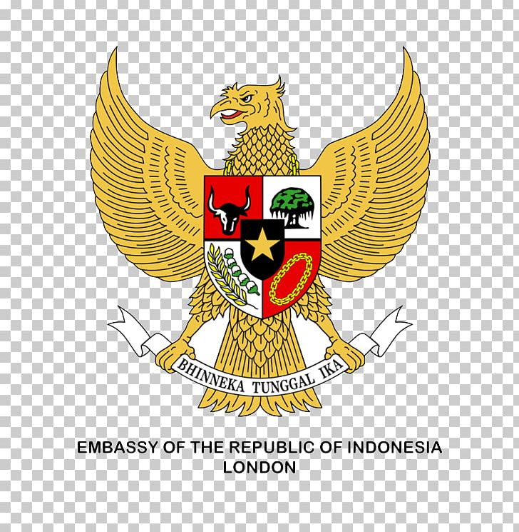 National Emblem Of Indonesia Garuda Pancasila PNG, Clipart, Bird.