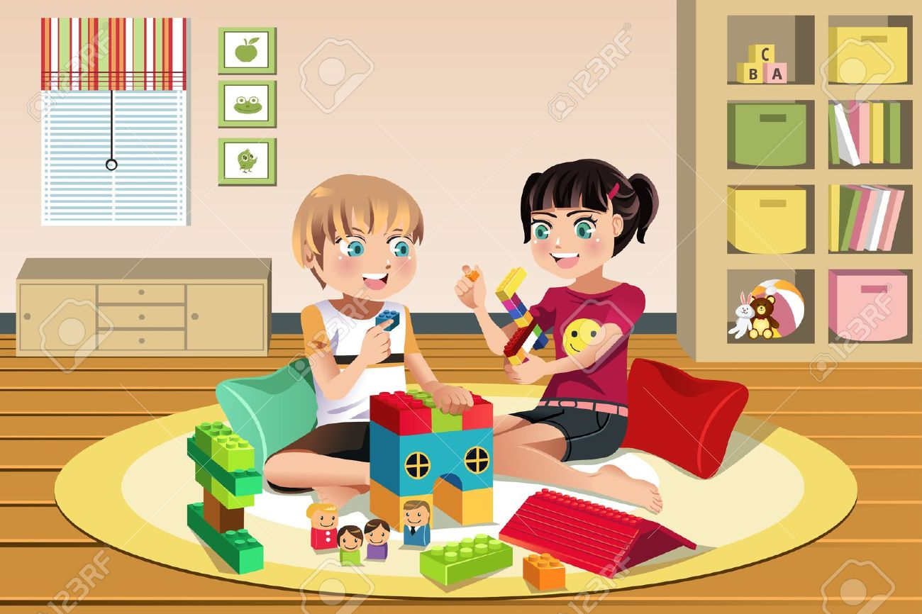 children playing toys clipart - photo #27