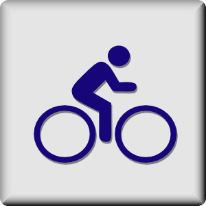 Hotel Icon Cycling Clip Art at Clker.com.