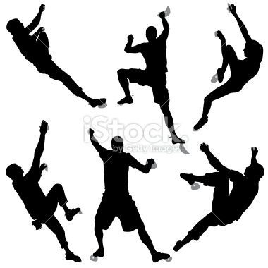 indoor rock climbing clip art.