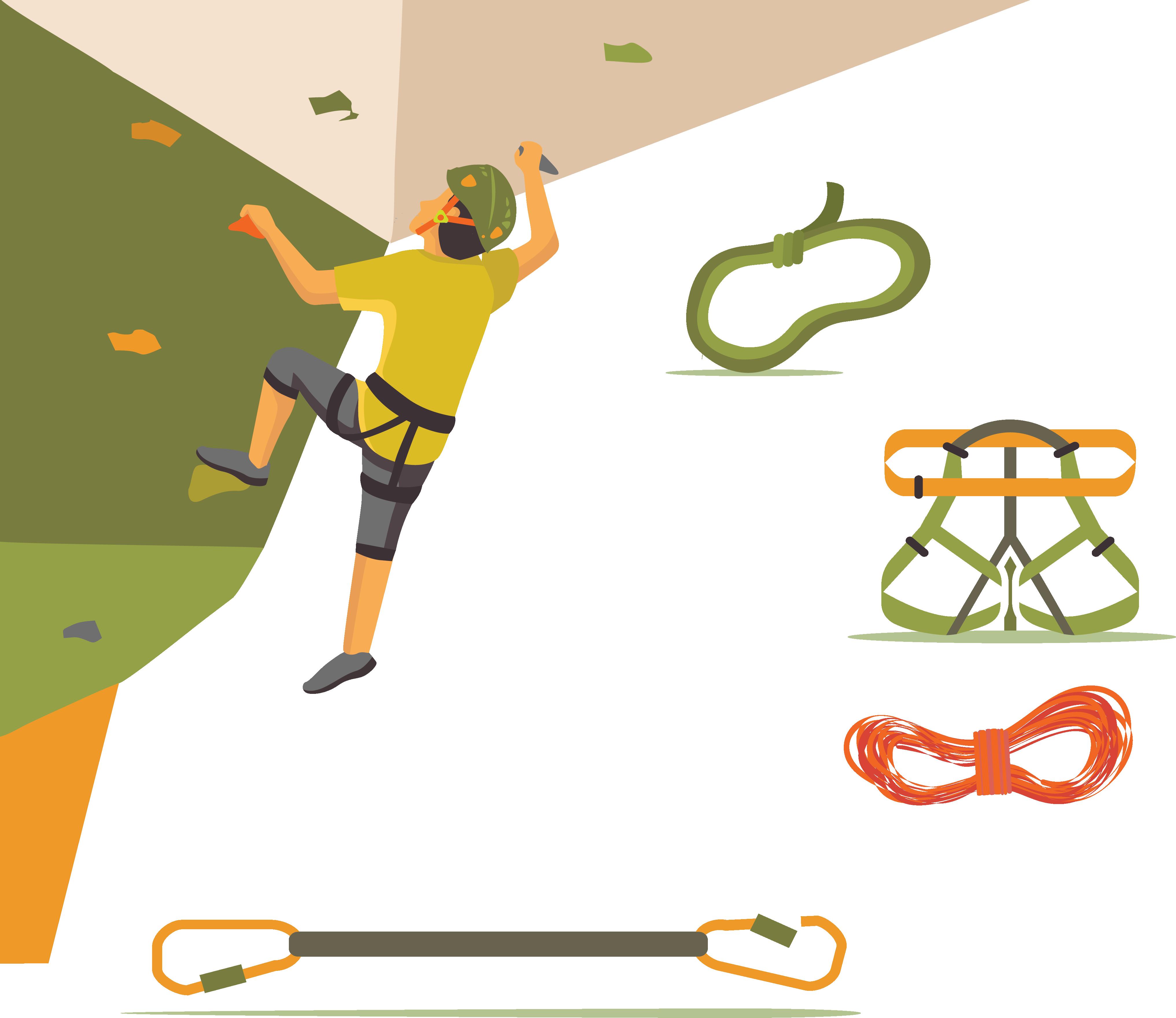 Sport Rock climbing Clip art.