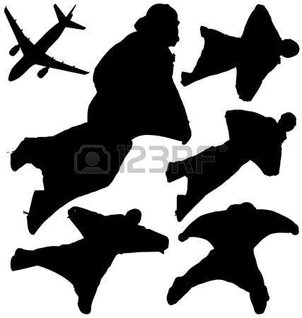 2,244 Skydiving Stock Vector Illustration And Royalty Free.