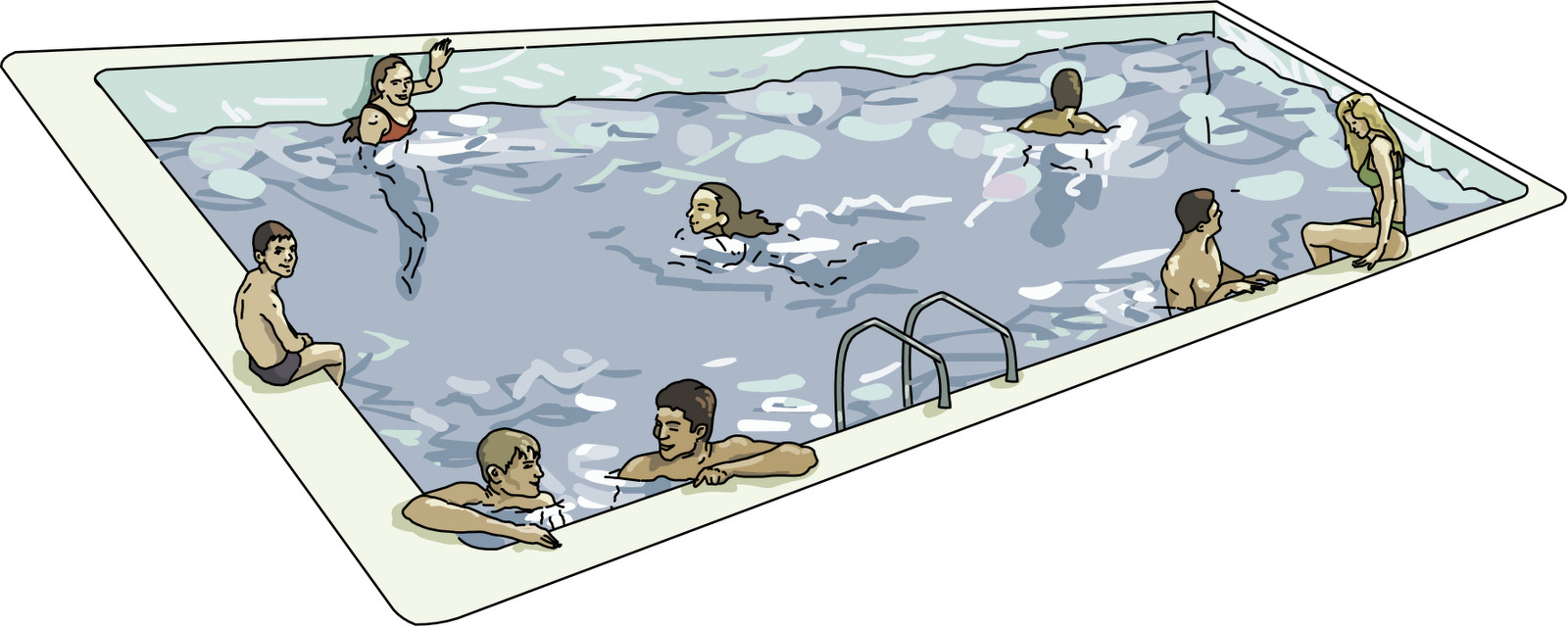 Indoor Swimming Pool Clipart Clipground