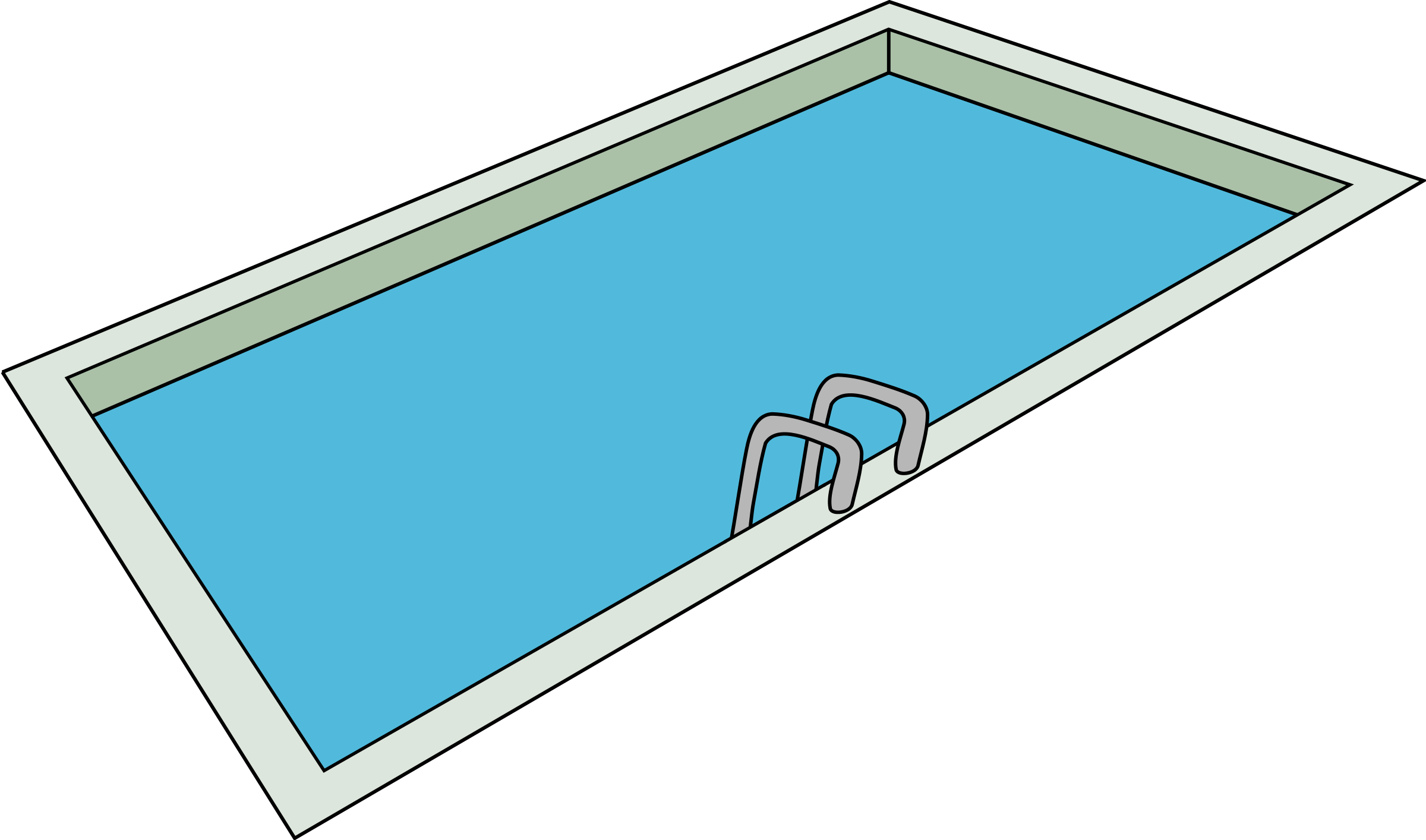 Swimming pool clipart.