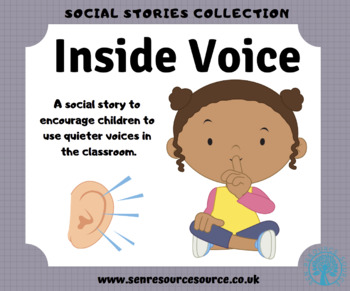 Use Your Inside Voice Special Education Worksheets.