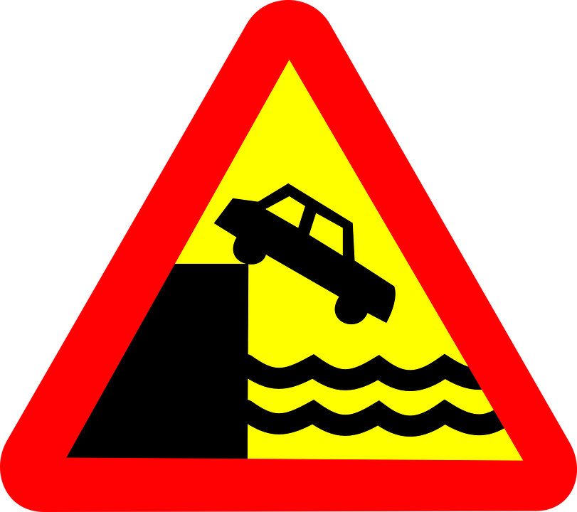 Free vector graphic: Roadsigns, Quay, Vehicle, Transport.
