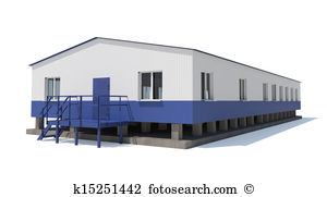 Industrial building Clip Art and Stock Illustrations. 14,873.