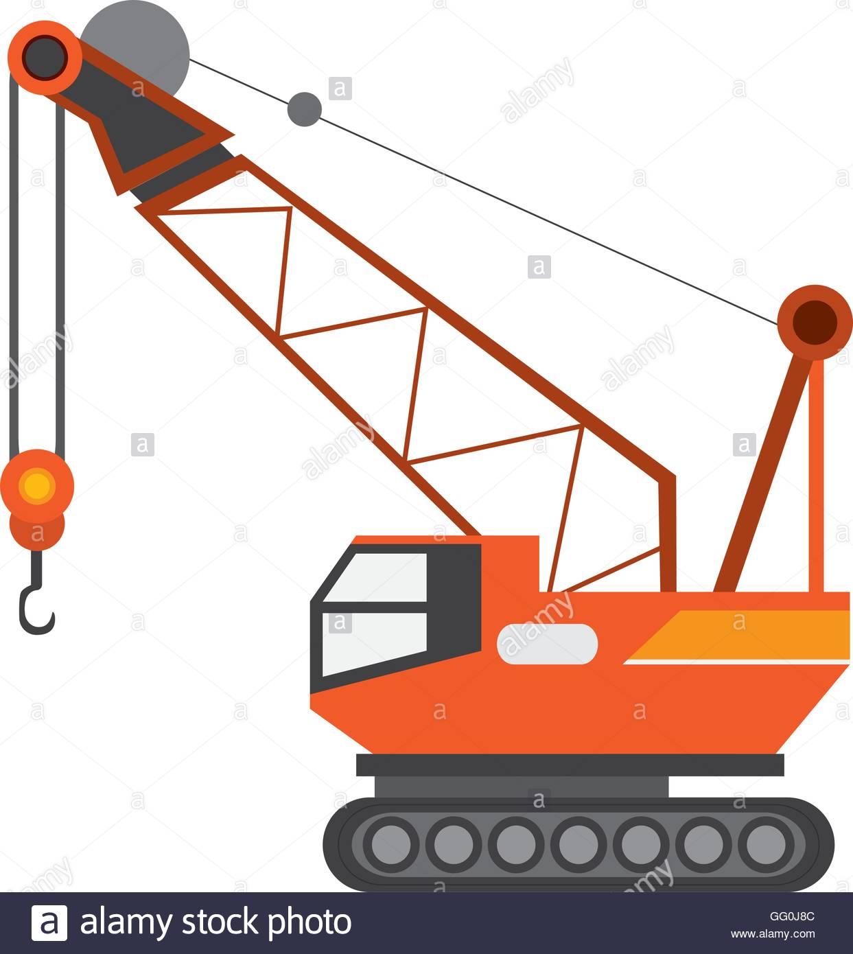 Industrial Crane Icon Stock Vector Art & Illustration, Vector.