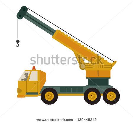 Crane Truck Stock Photos, Royalty.