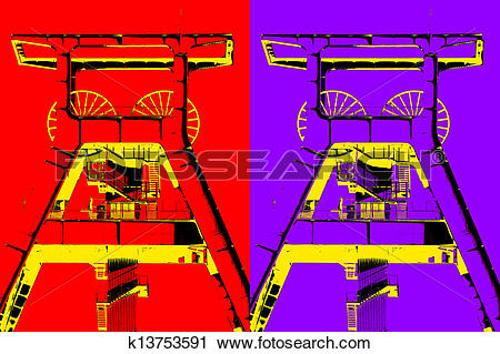 Clipart of Industrial Culture k13753591.