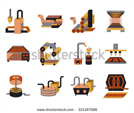 Food Processing Plant Stock Vectors, Images & Vector Art.