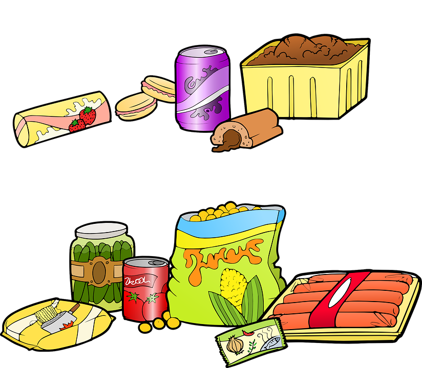 Free vector graphic: Fast Food, Junk Food.