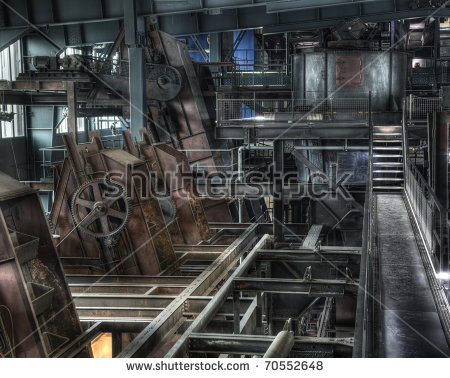 Old Factory Stock Photos, Royalty.