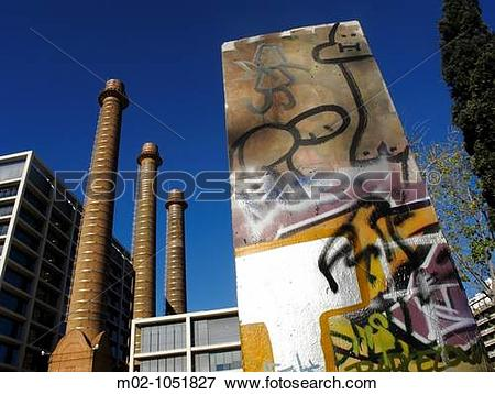 Picture of A former textile industrial complex called the ?three.