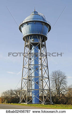 """Picture of """"Historic water tower, industrial monument, Ahlen."""