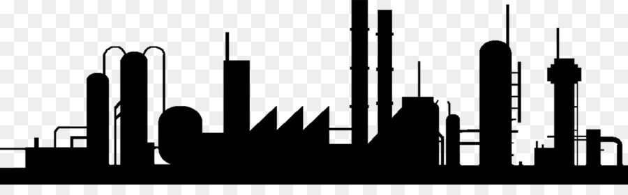 City Skyline Silhouette png download.
