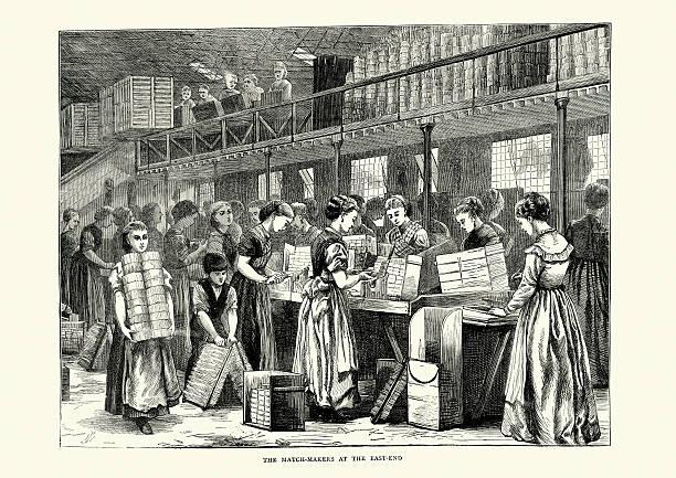 Best Industrial Revolution Illustrations, Royalty.